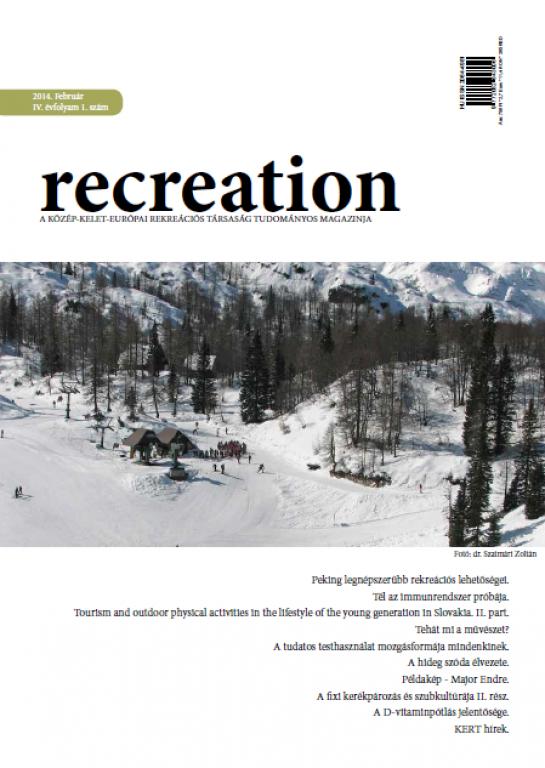 IV. Year - 1. issue